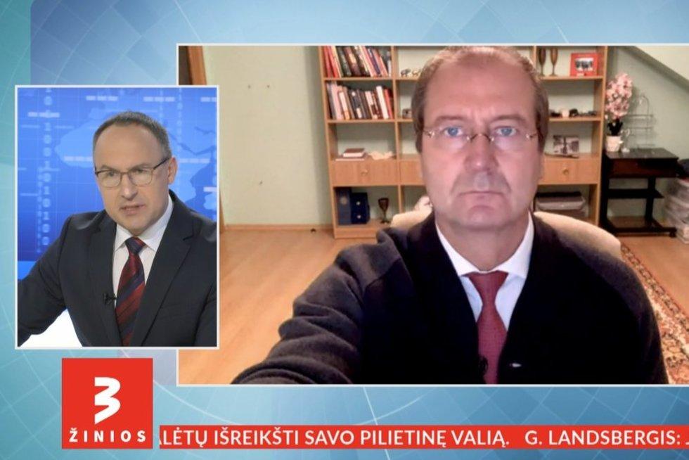 Viktoras Uspaskichas (nuotr. stop kadras)