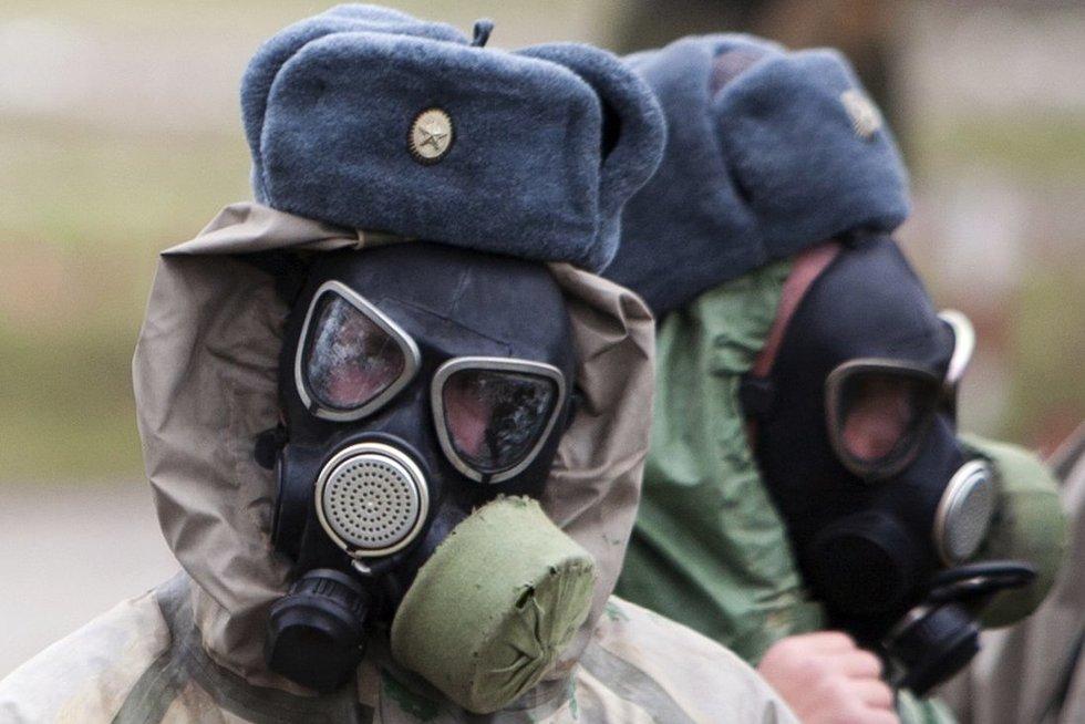 Rusijos karių pratybos (nuotr. SCANPIX)