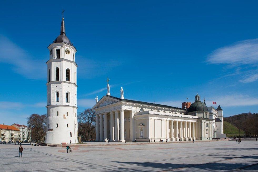 Vilniaus arkikatedra (nuotr. BFL / A. Ufartas)