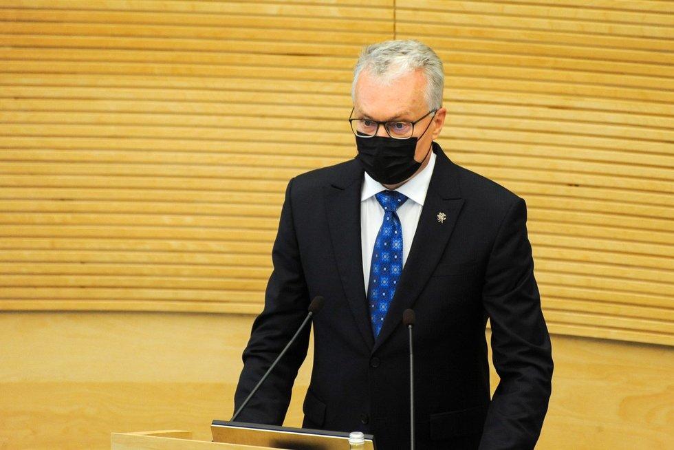 G. Nausėda (nuotr. Fotodiena/Justino Auškelio)