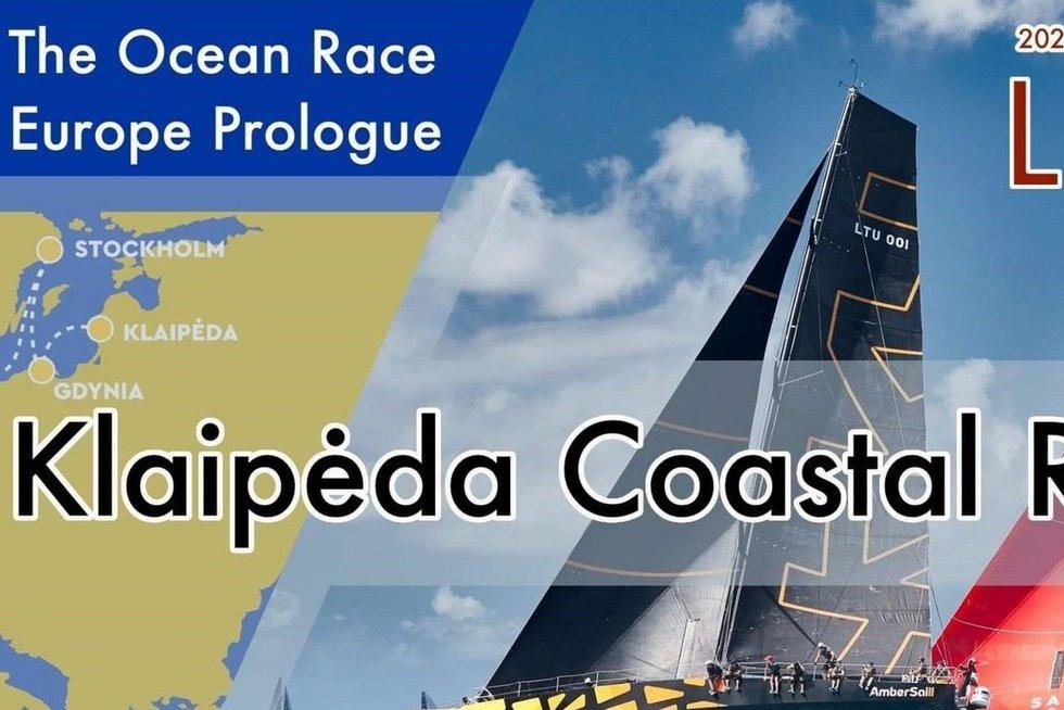 """""""The Ocean Race"""" lenktynės dalyvauja ir įgūla iš lietuvos""""Ambersail 2"""". (nuotr. Organizatorių)"""