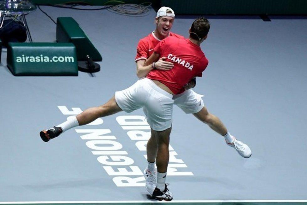 Kanados teniso rinktinė (nuotr. SCANPIX)