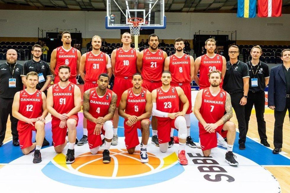 Danijos vyrų krepšinio rinktinė (nuotr. FIBA Europe)