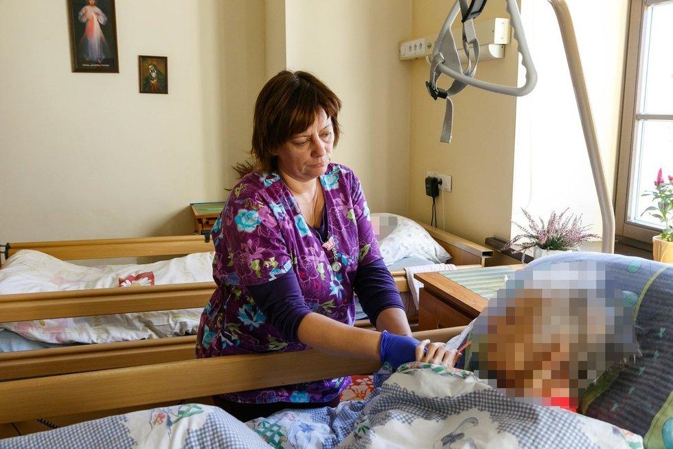 Hospisas - čia žmonės atvažiuoja numirti (nuotr. Tv3.lt/Ruslano Kondratjevo)