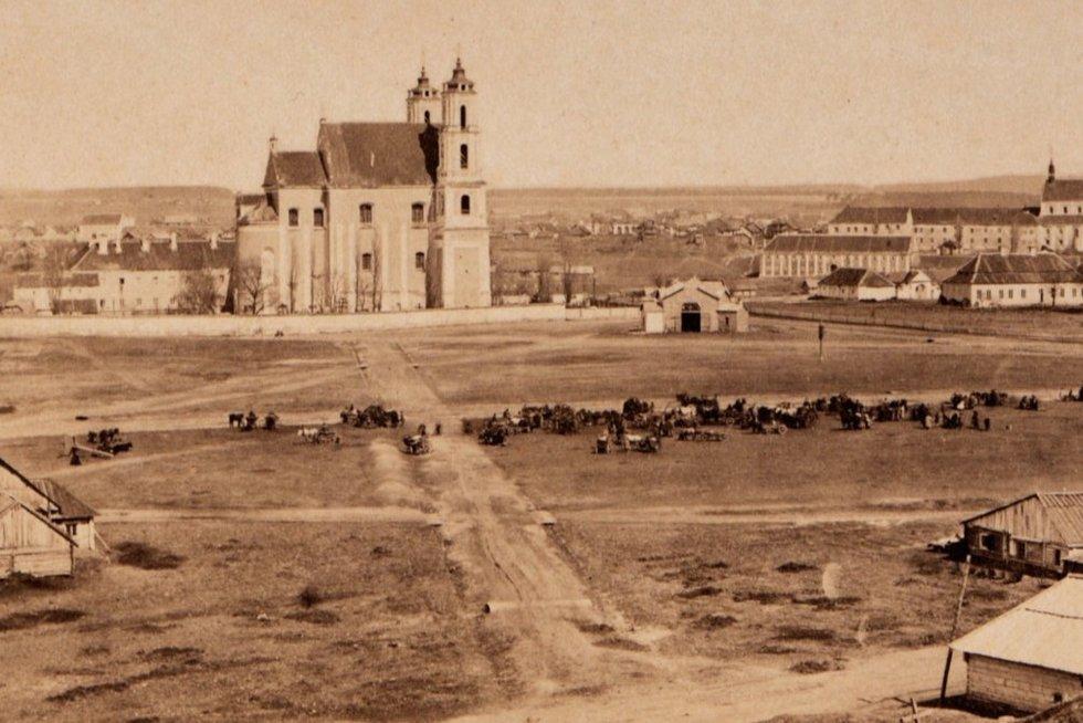 Pamatykite: seniausios žinomos Vilniaus ir Kauno nuotraukos  (nuotr. stop kadras)