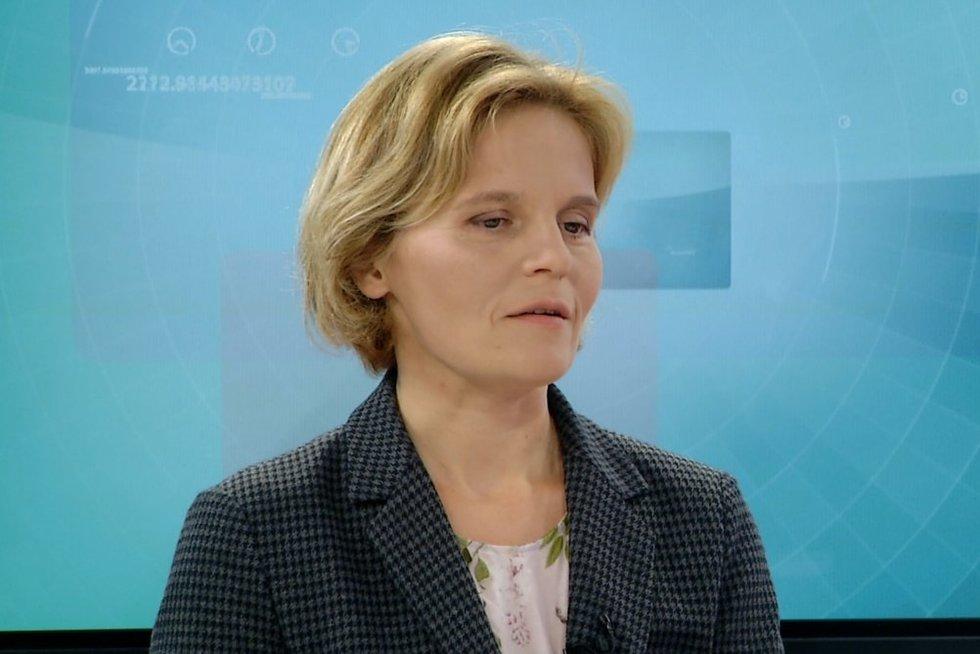 """""""Sodros"""" direktorė Julita Varanauskienė (nuotr. stopkadras)"""
