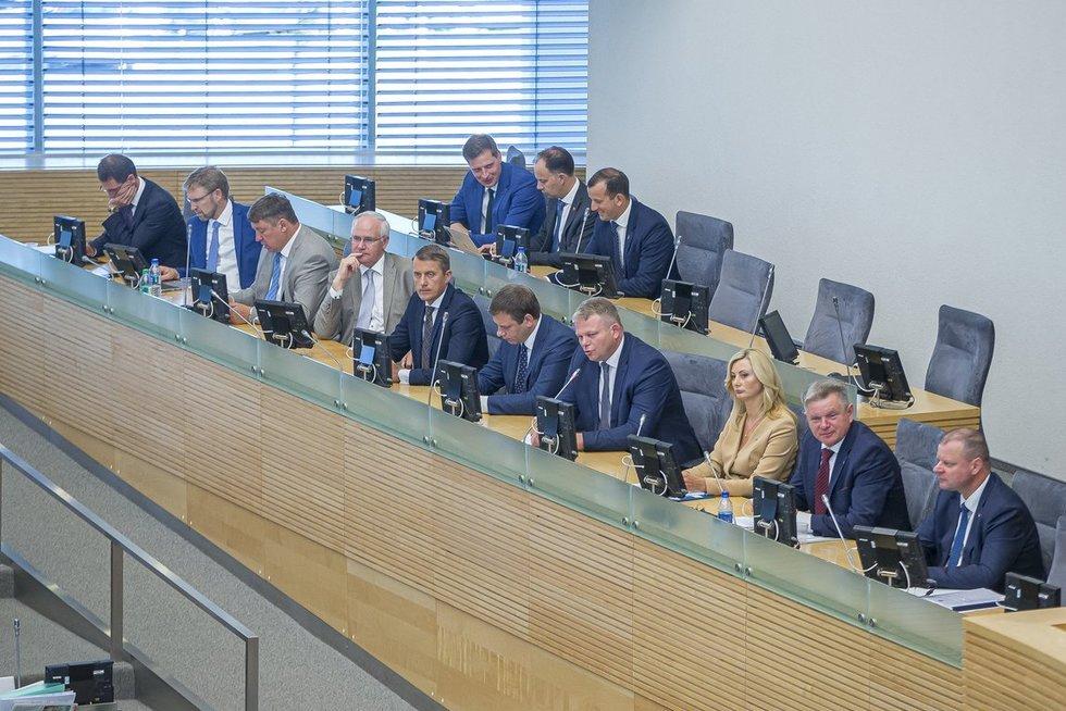Skvernelio Vyriausybė (nuotr. Fotodiena/Rokas Lukoševičius)
