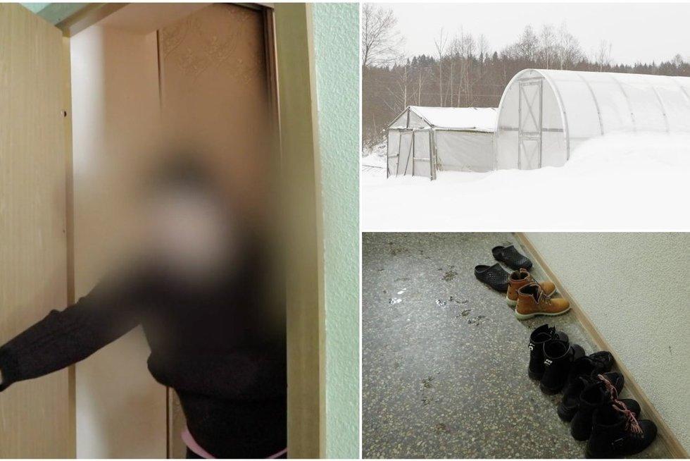 Iš pašalpų gyvenanti 5 vaikų mama gautą būstą apleido: dovanotą šiltnamį pavertė tualetu (tv3.lt koliažas)