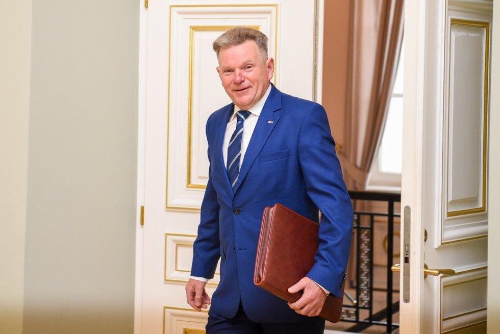 Prezidento susitikimas su Seimo nariu Narkevič (nuotr. Fotodiena/Justinas Auškelis)