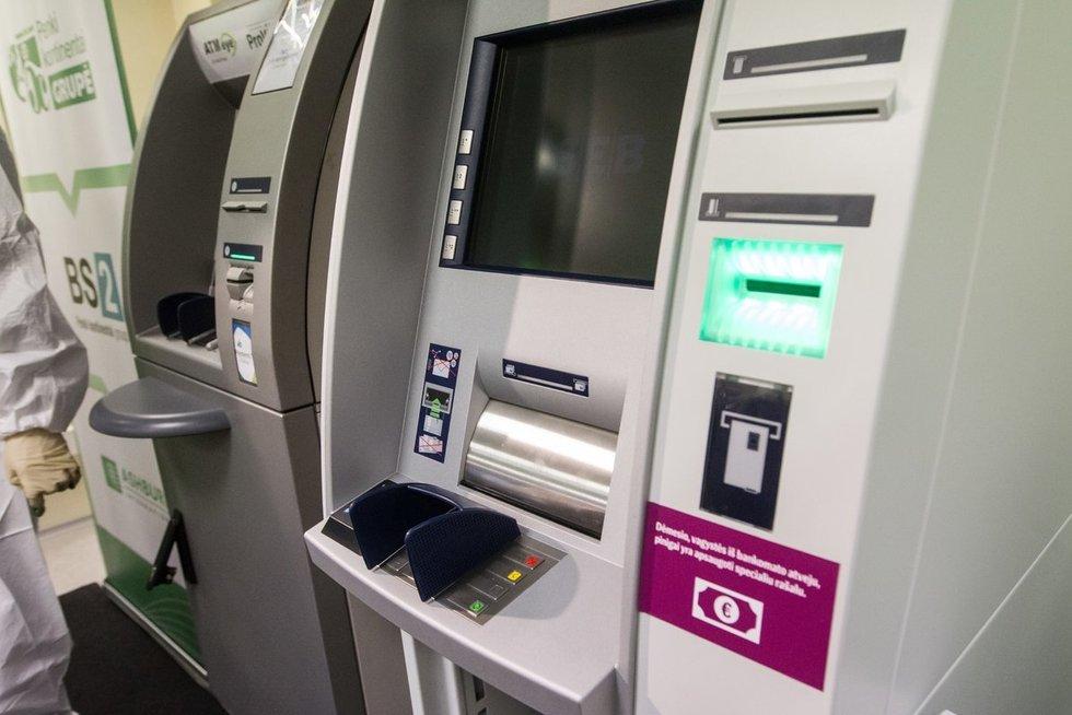 Bankomatas  Vygintas Skaraitis/Fotobankas