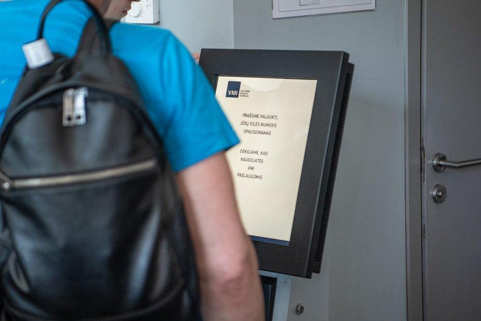 Valstybinė mokesčių inspekcija (Fotodiena/Justinas Auškelis)