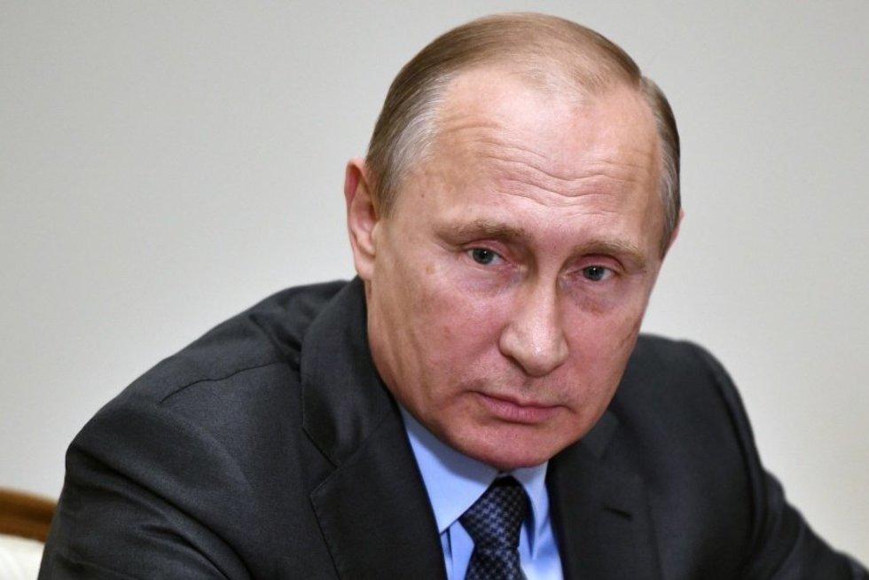 Putinas pasirašė sprendimą įšaldyti sutartį su JAV dėl plutonio utilizacijos (nuotr. SCANPIX)