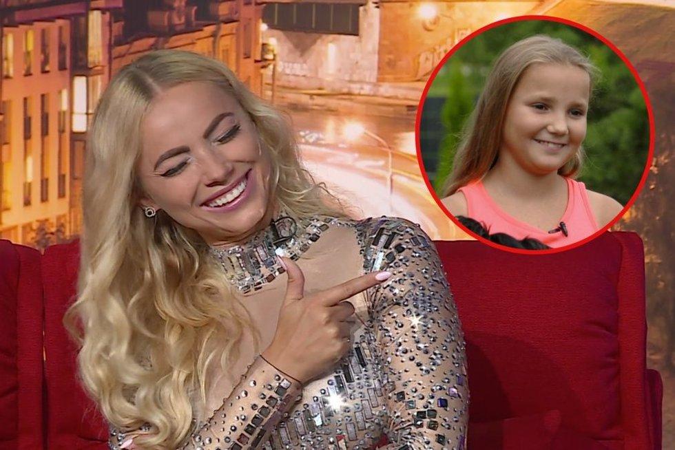 Goda Alijeva ir dukra Tėja (tv3.lt fotomontažas)