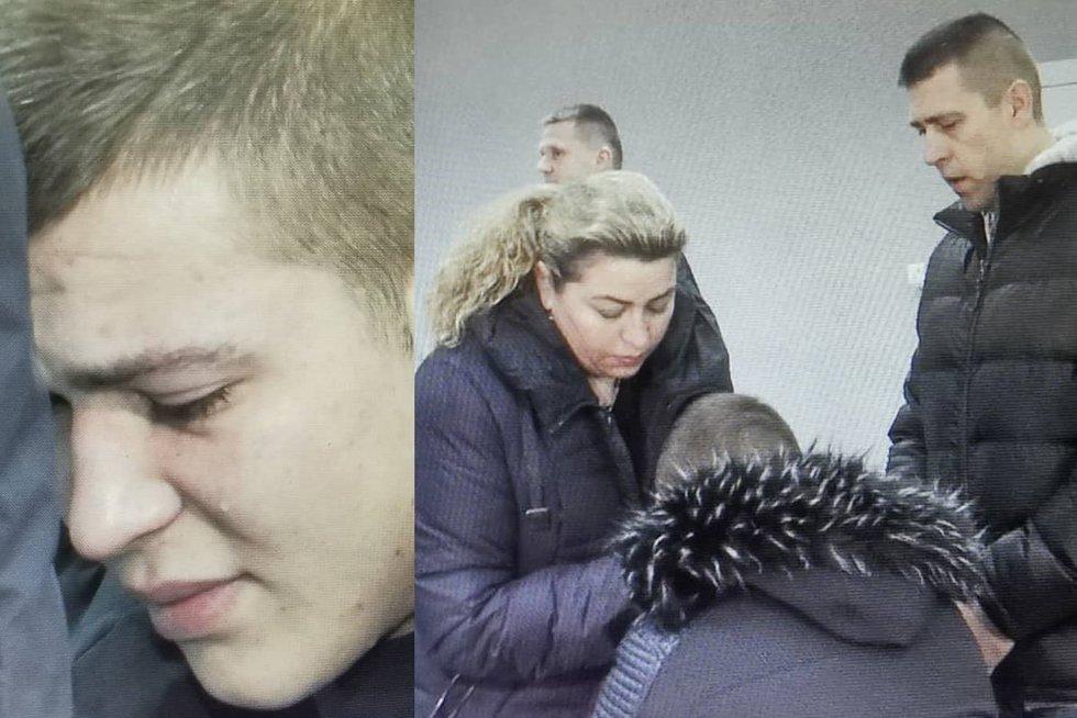 16-metę sužalojusio jurbarkiškio teismas (nuotr. TV3)