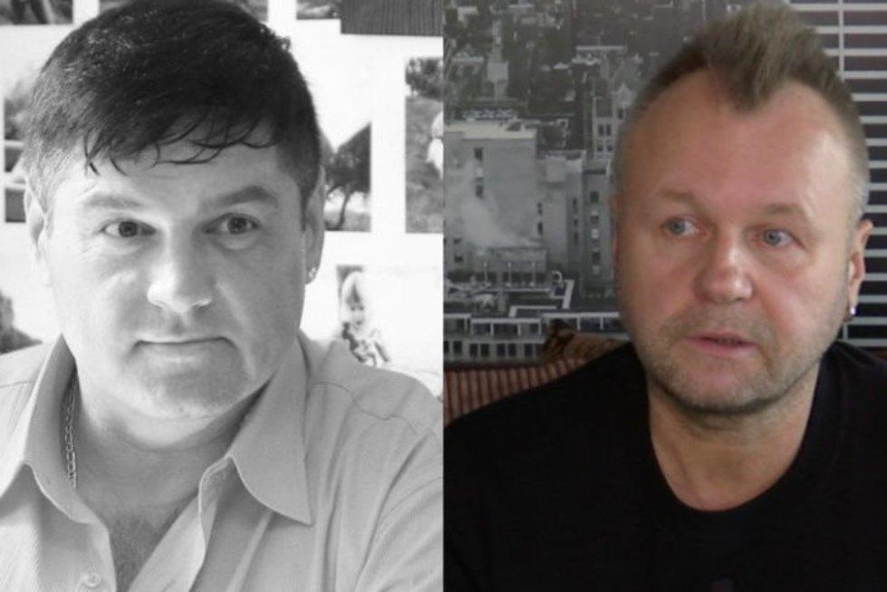 Vitalijus Cololo ir Saulius Urbonavičius-Samas (nuotr. stop kadras)