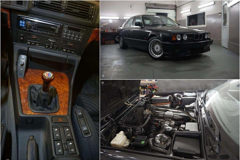 Lietuvoje už 80 tūkst. eurų parduodamas 1991 metų automobilis (nuotr. Turto savininkų)