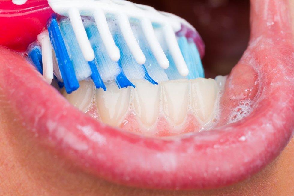 Dantų šepetėlis (nuotr. 123rf.com)