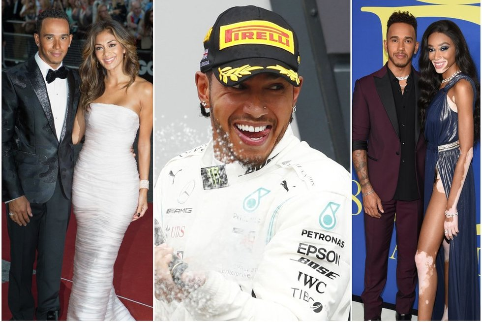 Lewis Hamilton (tv3.lt fotomontažas)