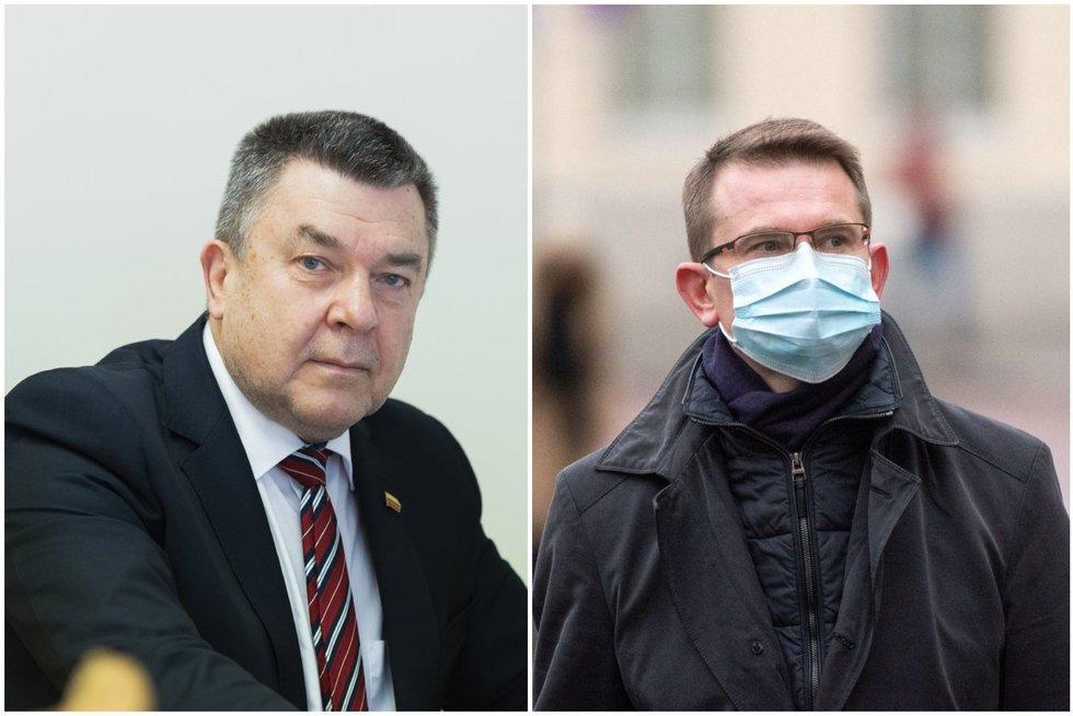 Antanas Matulas ir Arūnas Dulkys (tv3.lt koliažas)