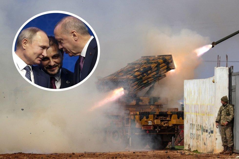 NATO ir Rusijos susidūrimas Sirijoje: Turkija lauks iki mėnesio pabaigos (nuotr. SCANPIX) tv3.lt fotomontažas