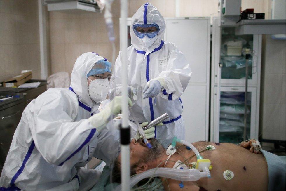 Koronavirusas plinta (nuotr. SCANPIX)