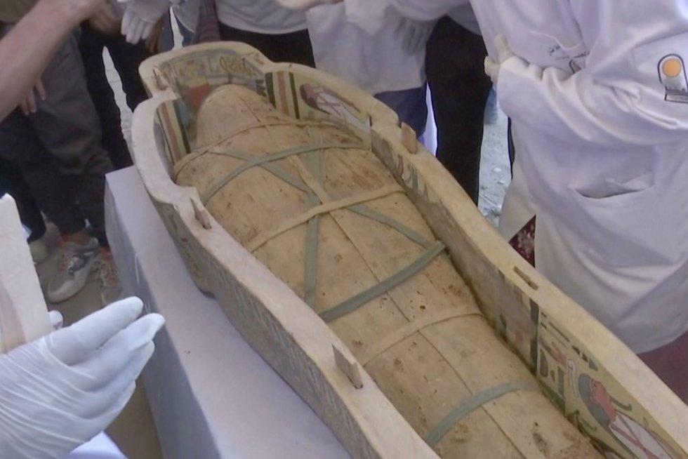 Mumija (nuotr. stop kadras)
