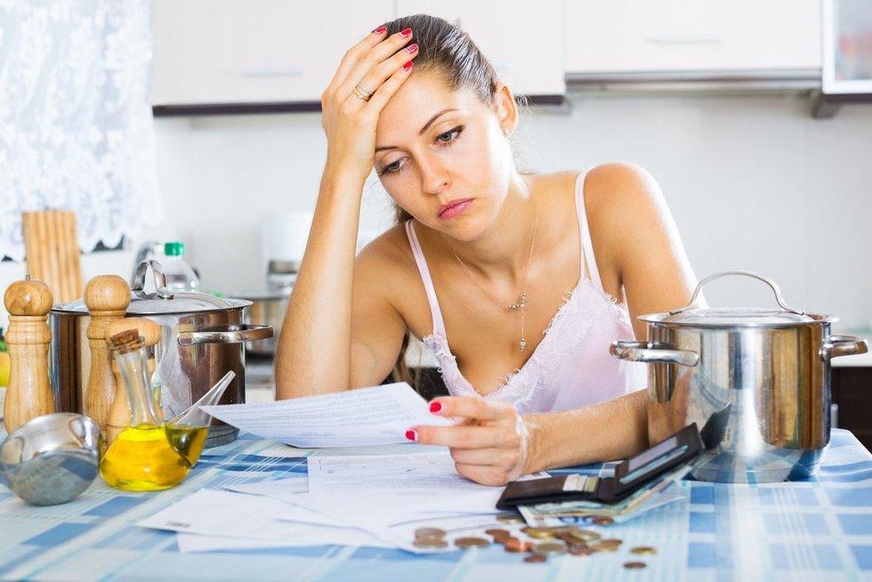 Piniginės problemos (nuotr. 123rf.com)