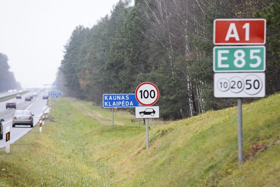 Kelias Vilnius - Kaunas (nuotr. Fotodiena.lt)