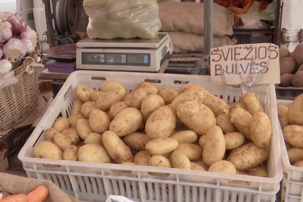 Bulvės (nuotr. stop kadras)
