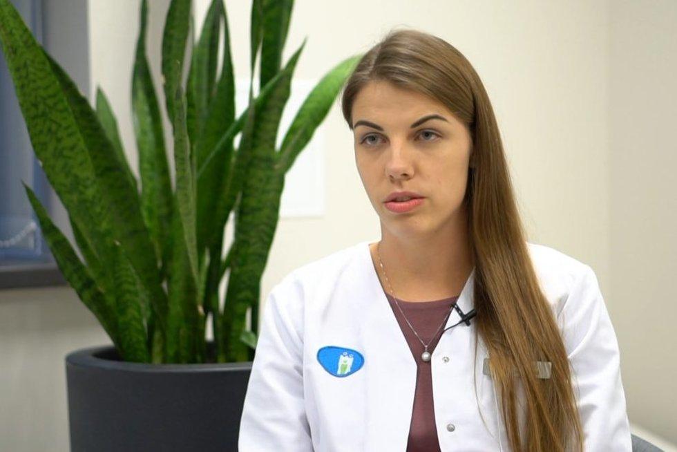 Šeimos gydytoja Elena Petrauskienė (nuotr. stop kadras)