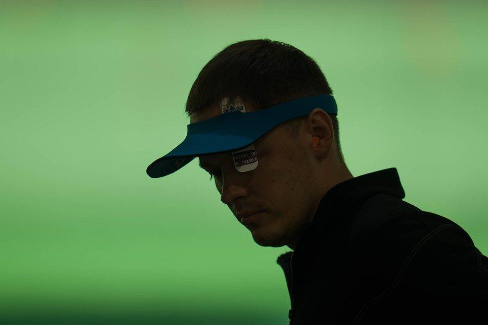 Šaulys Karolis Girulis atrankoje užėmė 25 vietą – į finalą nepateko (Kipro Štreimikio/LTOK nuotr.)
