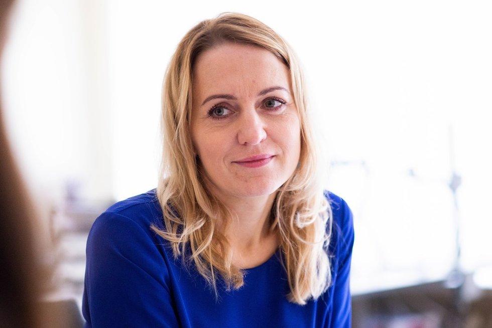 Centro vadovė Renata Rimdžiuvienė (nuotr. Fotodiena/Justino Auškelio)