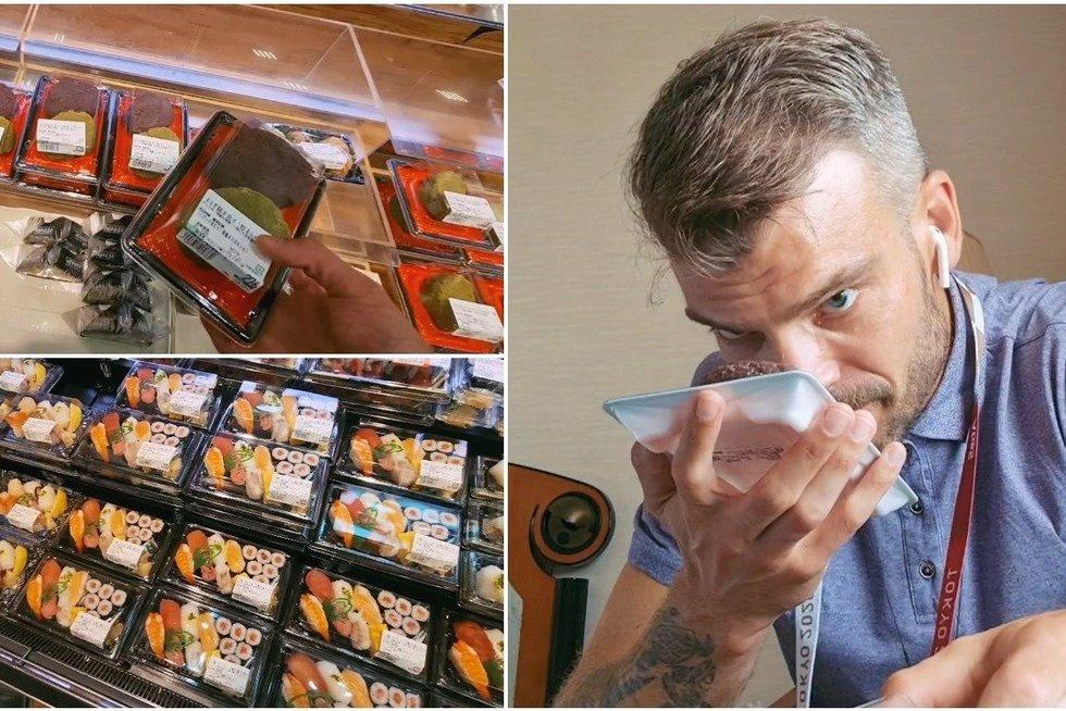 Mindaugas Rainys apsipirko Tokijo prekybos centre – kai ko į burną net nesinorėjo dėti