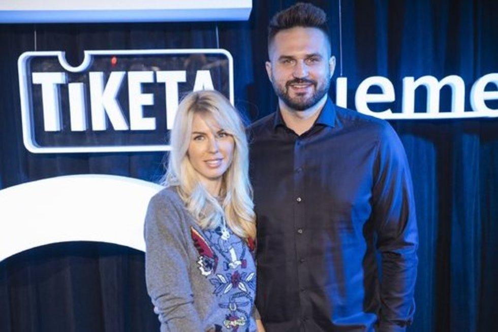 Agneta Kleizienė ir Linas Kleiza (Gedmantas Kropis/Fotobankas)