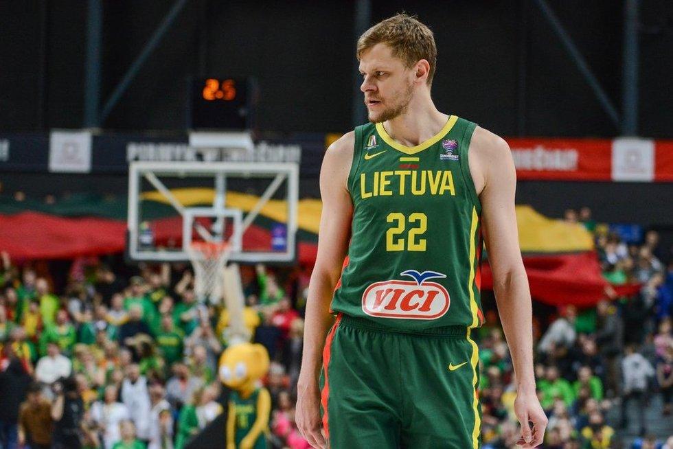 Lietuva – Čekija akimirkos (nuotr. Fotodiena/Justino Auškelio)