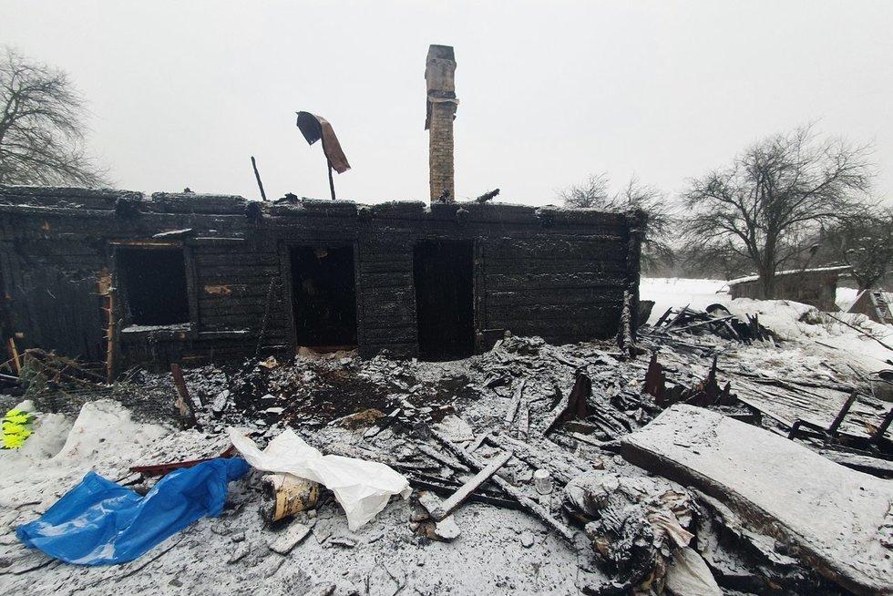 Nužudymas Trakų rajone (nuotr. Broniaus Jablonsko)