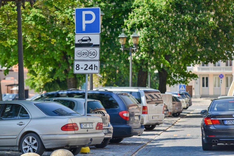 Parkavimas (nuotr. Organizatorių)