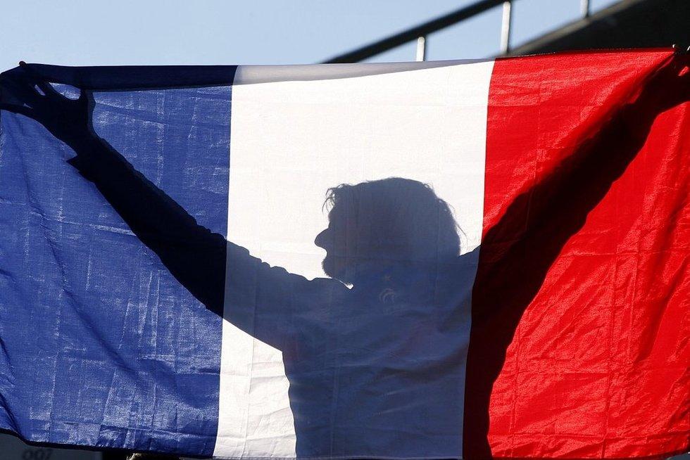 Prancūzijos vėliava (nuotr. SCANPIX)