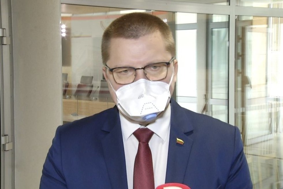 Dainius Gaižauskas (nuotr. stop kadras)