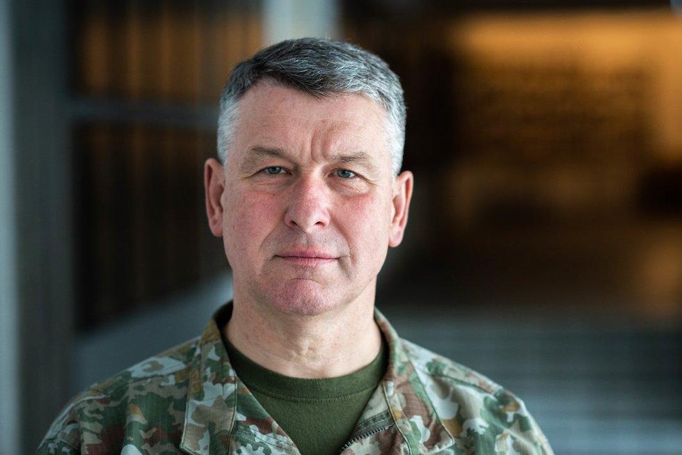 Kariuomenės vadas generolas leitenantas Valdemaras Rupšys