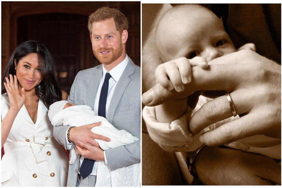 Meghan Markle ir princas Harry parodė vaikelį (nuotr. SCANPIX)