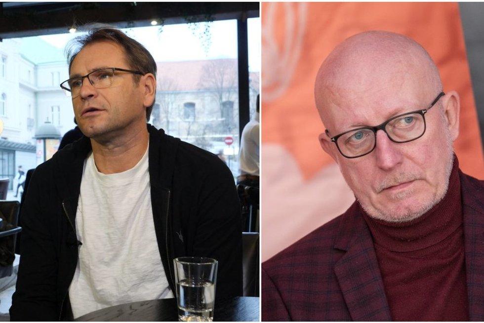M. Mikutavičius ir A. Valinskas (tv3.lt fotomontažas)