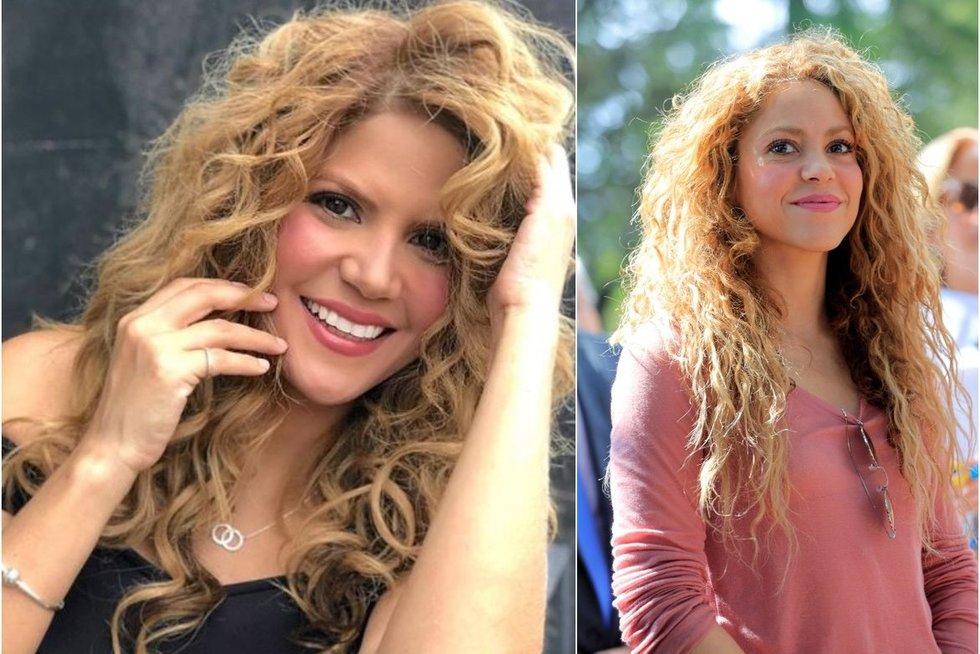 Rebeca Maiellano, Shakira (tv3.lt fotomontažas)