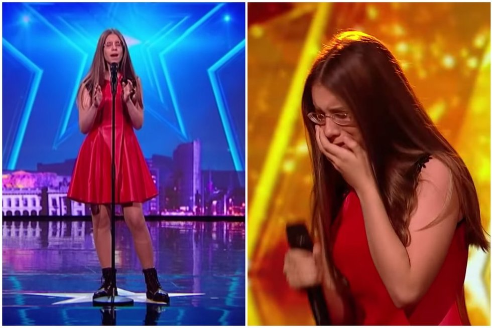 Iveta Tumasonytė (Ireland's Got Talent nuotr.) (nuotr. YouTube)