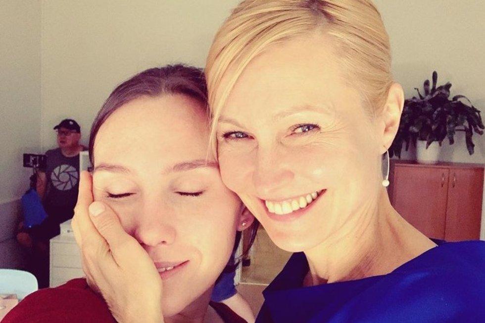 Ingerborga Dapkūnaitė ir Darija Ekamasova (nuotr. Instagram)