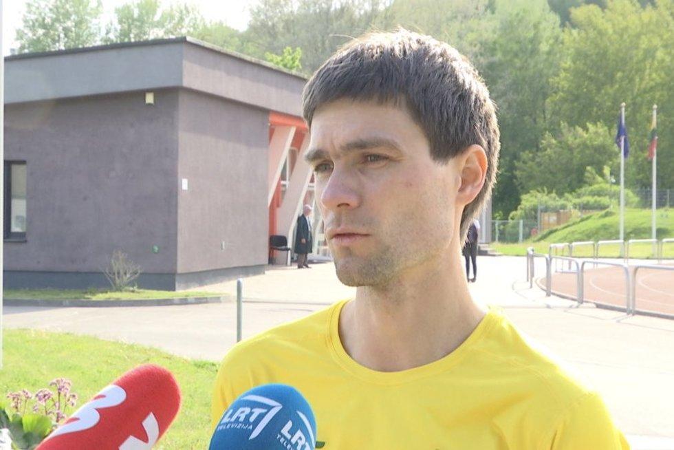 Marius Žiūkas (nuotr. stop kadras)