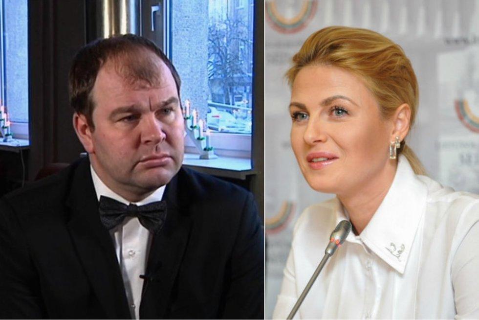 Mantas Leliukas ir Greta Kildišienė (nuotr. tv3.lt)