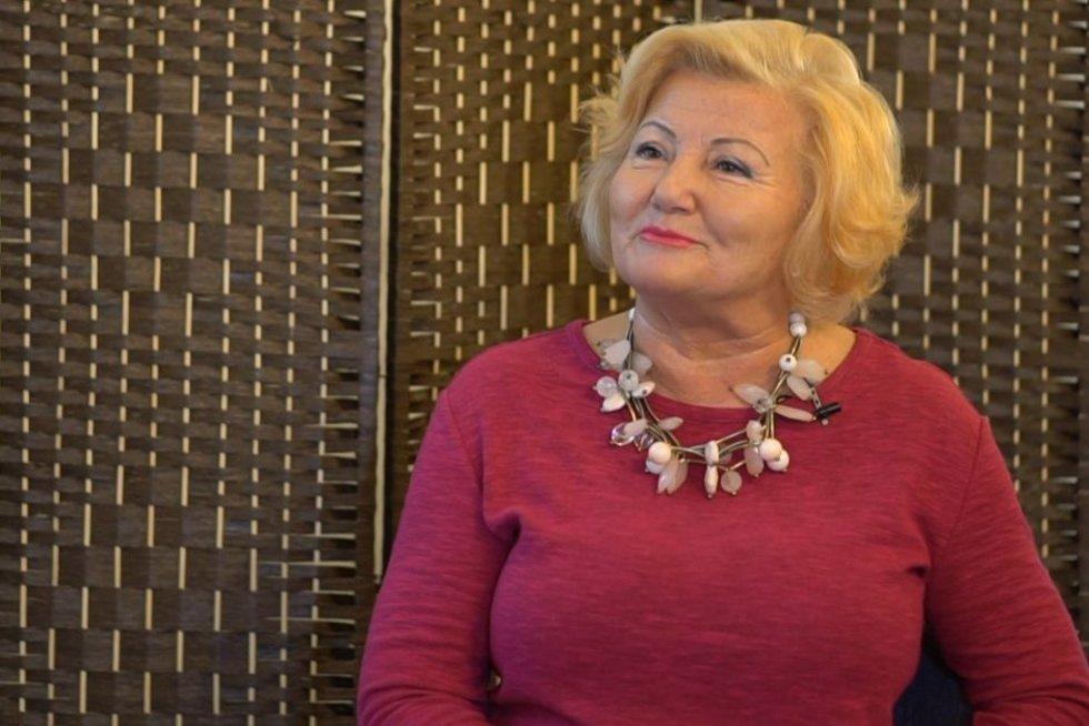 Joana Bartaškienė (nuotr. stop kadras)