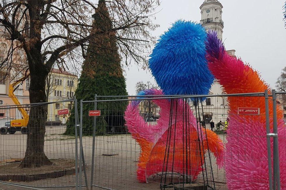 Kaunas ruošiasi Kalėdoms, V. Girčės nuotr.