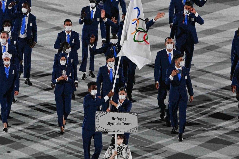 Pabėgėlių olimpinė komanda (nuotr. SCANPIX)